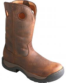 Twisted X Taupe Waterproof All Around Cowboy Boots - Round Toe