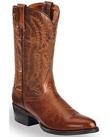 Dan Post Cash Cowboy Boots - Round Toe