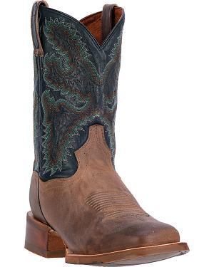 Dan Post Drifter Cowboy Boots - Square Toe