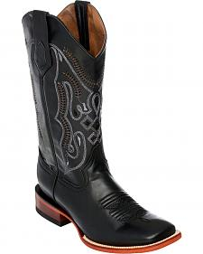 Ferrini Cowhide Leather Cowboy Boots - Square Toe