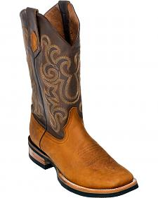 Ferrini Men's Maverick Cowboy Boots - Square Toe