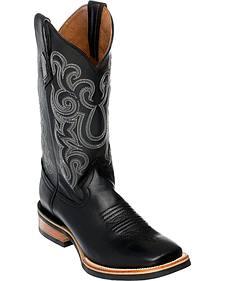 Ferrini Men's French Calf Leather Cowboy Boots - Square Toe