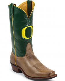 Nocona Men's University of Oregon Ducks College Boots - Square Toe