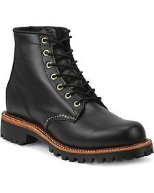 "Chippewa Men's 6"" Lace-Up Whirlwind Boots - Round Toe"