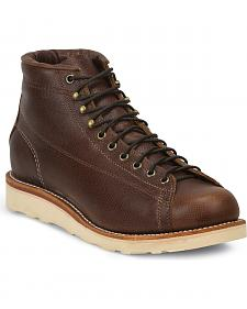 Chippewa Men's Lace-to-Toe Bridgemen Boots - Round Toe