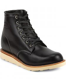 """Chippewa Men's Whirlwind 6"""" Lace-Up Work Boots - Round Toe"""