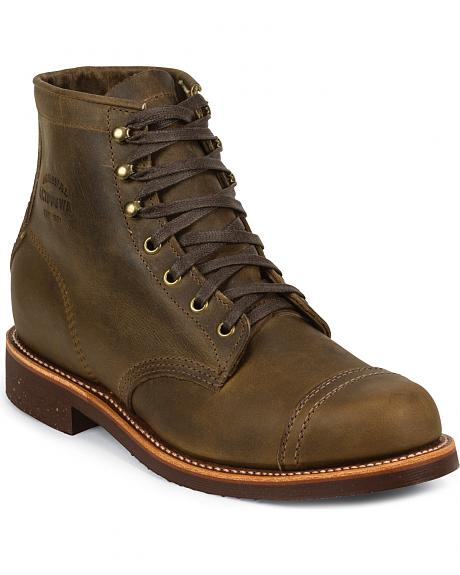 Chippewa Men's Crazy Horse General Utility Homestead Boots - Round Toe