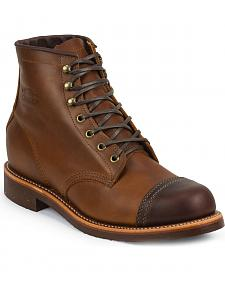Chippewa Men's Renegade General Utility Homestead Boots - Round Toe