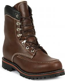 Chippewa Men's 1935 Original Kush N Kollar Mountaineer Boots - Moc Toe