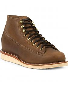 Chippewa Men's 1958 Maple General Utility Boots - Round Toe