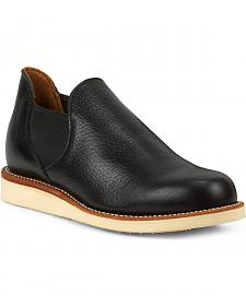 Chippewa Men's 1967 Original Black Romeo Shoes