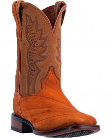 Dan Post Men's Cade Rust Cowboy Boots - Square Toe