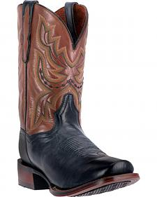 Dan Post Ardmore Leather Cowboy Boots - Square Toe