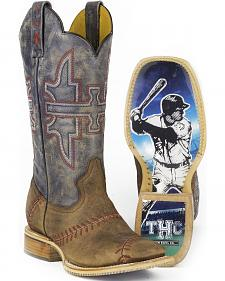Tin Haul Men's Slugger Cowboy Boots - Square Toe