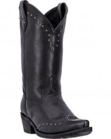 Dingo Black Jake Cowboy Boots - Snip Toe