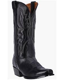 El Dorado Vanquished Calf Cowboy Boots - Round Toe