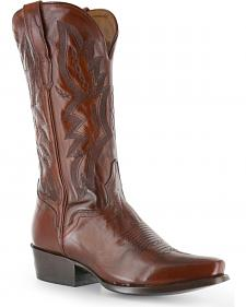El Dorado Antique Calf Cowboy Boots - Square Toe