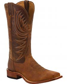 Tony Lama Soft Honey Americana Cowboy Boots - Square Toe