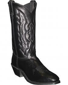 Abilene Black Dress Cowboy Boots - Square Toe