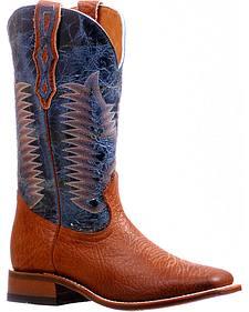 Boulet Bullhide Stockman Cowboy Boots - Square Toe
