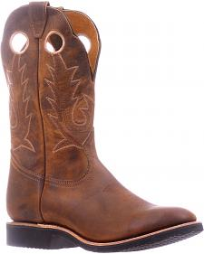 Boulet Hillbilly Golden Extralight Cowboy Boots - Round Toe