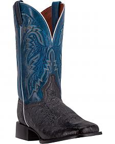 Dan Post Men's Smooth Ostrich Callahan Cowboy Boots - Broad Square Toe