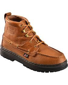 Justin Men'sTrotter Chukka Boots - Round Toe