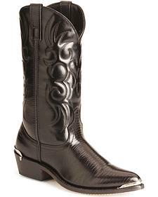 Laredo Lizard Print Cowboy Boots