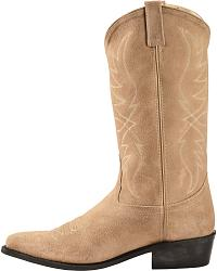 Old west roughout suede cowboy boots sheplers