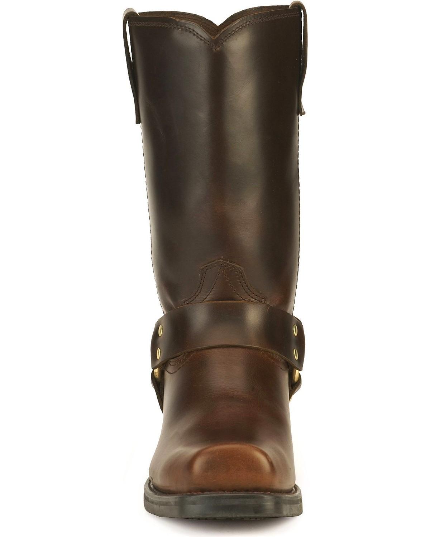 Durango Men S Harness Cowboy Boot Square Toe Db594 Ebay