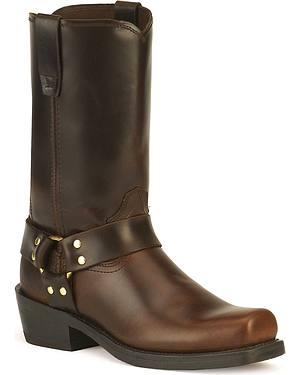 Durango Harness Cowboy Boots - Square Toe
