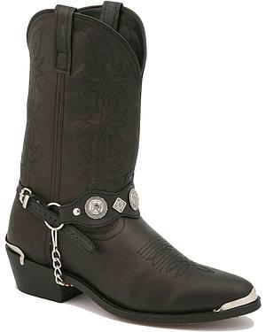 Dingo Concho Harness Cowboy Boots