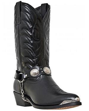 Laredo Concho Harness Boots