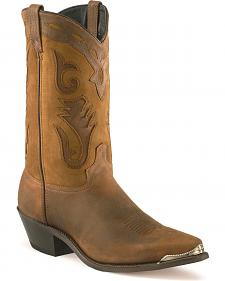 Sage by Abilene Men's Distressed Western Boots - Pointed Toe