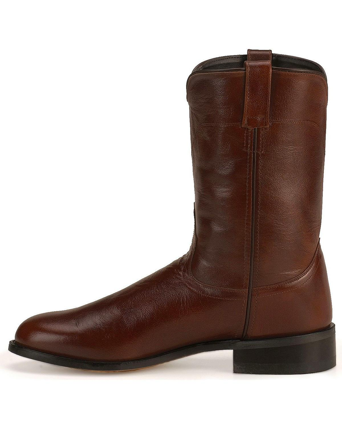 west s leather roper cowboy boot srm4051 ebay