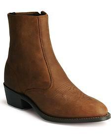 Laredo Zipper Boots - Medium Toe