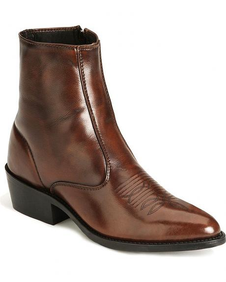 Laredo Zipper Boots - Medium Toe