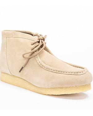 Roper Gum Sole Suede Moccasins Boots