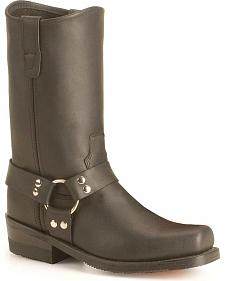 Double H Black Harness Boots