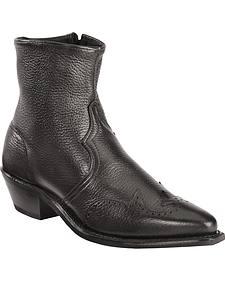 Abilene Western Wingtip Zipper Boots
