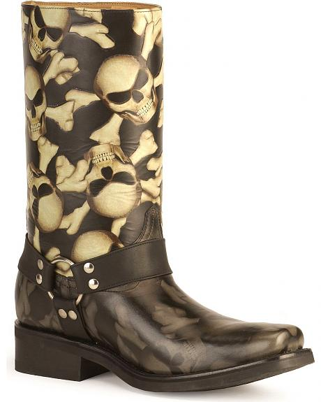 Radical Boots Bad Boys harness motorcycle boots