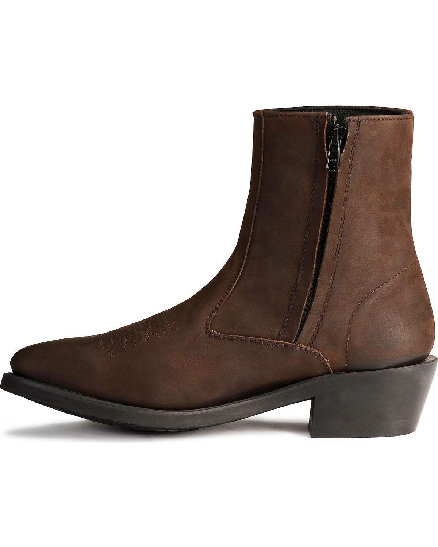 west s zipper western ankle boot mz7082 ebay