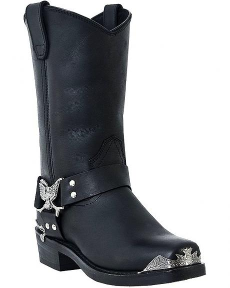 Dingo Eagle Harness Boots - Square Toe