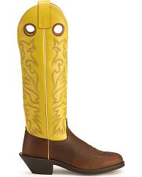 Old West Saddle Vamp Buckaroo Western Boots at Sheplers