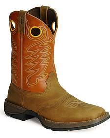 Durango Rebel Cowboy Boots - Square Toe