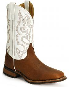 Laredo Rancher Cowboy Boots - Square Toe