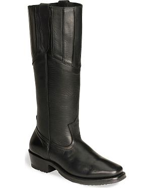 Preacher Tall Cowboy Boots - Square Toe
