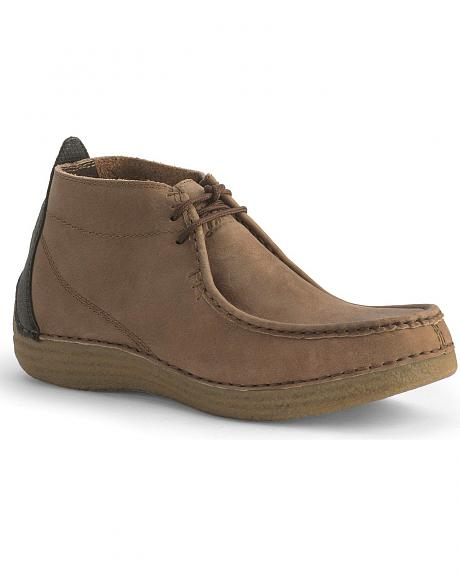 Tony Lama 3R Tan Casual Boots - Moc Toe