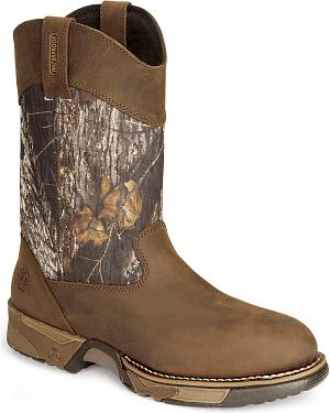 Rocky Aztec Waterproof Pull-on Mossy Oak Break-Up® Camo Boots