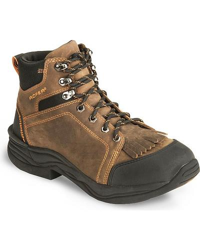 Roper Performance Waterproof Lace-Up Boots Western & Country 09-020-0376-0921